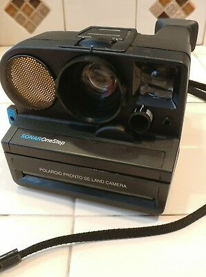 Vintage Polaroid One Step Camera Sonar Excellent Working condition