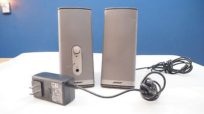 Bose Companion 2 Series II Computer Multimedia Speakers WORKS TESTED