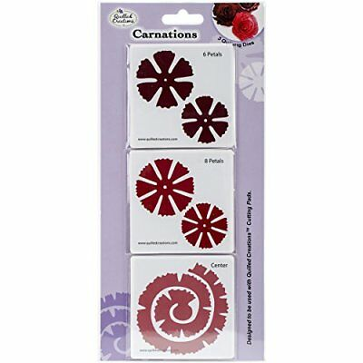 NEW Quilled Creations Quilling Dies Carnations FREE SHIPPING