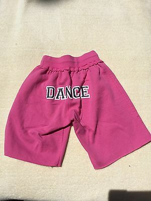 "**MotionWear Pink Shorts ""Dance"" (Small Adult)"