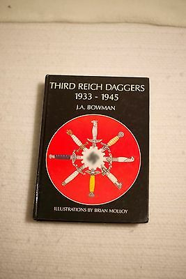 Third Reich Daggers 1933-1945 / Signed by both Author and Artist, #d 1st. edit.