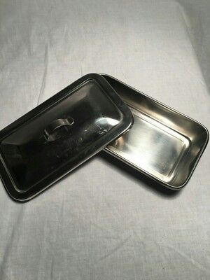 SKLAR Stainless Surgical Tray with lid
