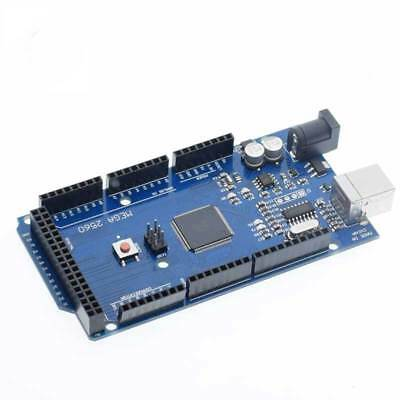 MEGA 2560 R3 ATMEGA16U2 ATMEGA2560-16AU Board + USB Cable For Arduino Kit