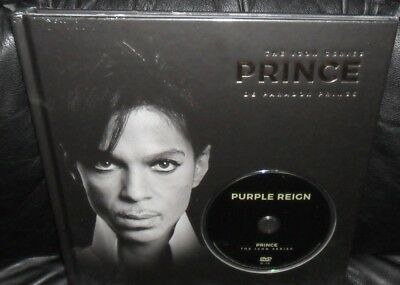PRINCE DVD Biography Book Hardcover Deluxe PURPLE R... THE SYMBOL No LP/Promo/CD