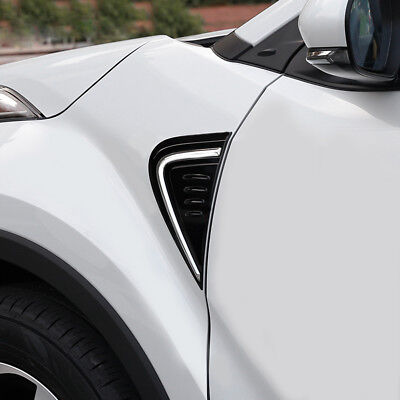 Front Side Car Body Cover Air Vent Hood Trim For Toyota C-HR CHR 2016 2017 2018