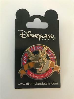 DLP- PIN TRADING NIGHT SVEN from FROZEN LE 400 DISNEY PIN DLRP PARIS