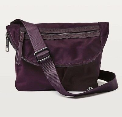 Lululemon Black Cherry 5L Festival Bag II - NWT