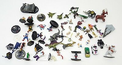 Huge Lot of Micro | Teeny Tiny | Miniature Figures - Star Wars Cars Marvel MMPR