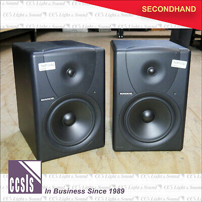 Mackie MR8 Studio Monitors - Pair