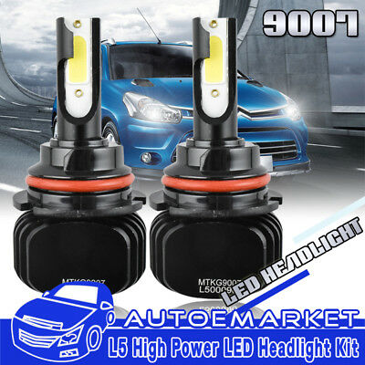 Pair 9007 HB5 LED Headlight for Nissan Frontier 2001-2017/Pathfinder 2005-2012