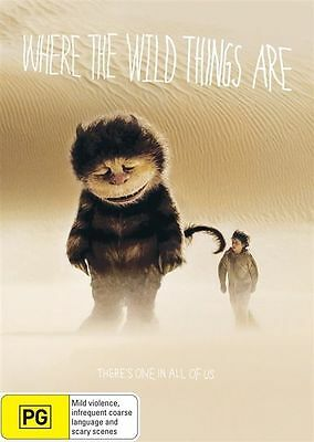 Where The Wild Things Are (DVD, 2010) New Region 4 Unsealed