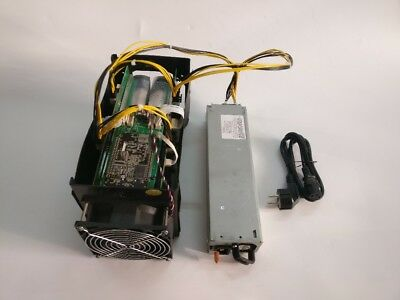 USED Bitmain Antminer S5 BTC ASIC Miner Bitcoin Mining Machine With Power Supply