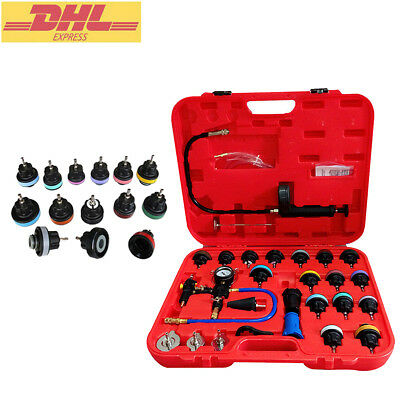 Universal Radiator Pressure Tester Kit 27pc Cooling System Test Detector tools