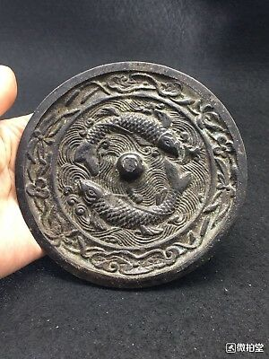 Rare old ancient bronze mirror