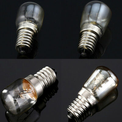 NEW E14 Lampe de four Globe Light Réfrigérateur Ampoule AC220-240V 15/25W 300°C