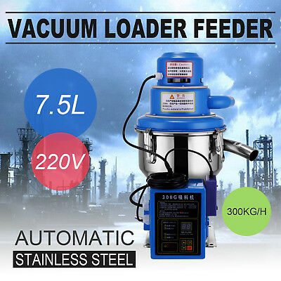 300G Vacuum Loader Feeder 300Kg/h 1Kw/1.3Hp Microcomputer Control Newest Pro