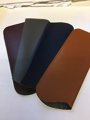 Leather Look Soft Glasses Cases 16Cm 6Xcm 4 Colours Available (Small)
