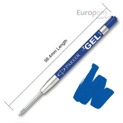 Parker Quink Gel Jotter Ballpoint Refill - BLUE - Discounted quantities