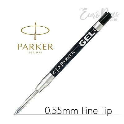 Parker Quink Gel Jotter Ballpoint Refill - BLACK - Discounted quantities