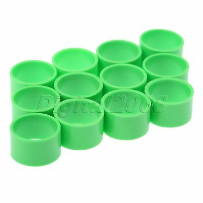 Poultry Leg Rings for Birds Hens Ducks Small/Big Size High Quality 50 Pcs Green