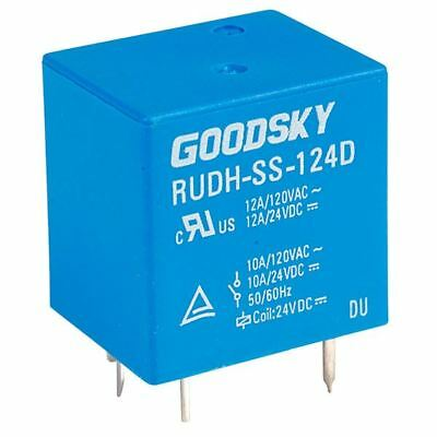 Good Sky 24V RUDH Series 12A SPDT Relay RUDH-SS-124D Good Sky