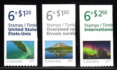 2018 Canada SC# From Far and Wide - from Booklets 3 Stamps M-NH