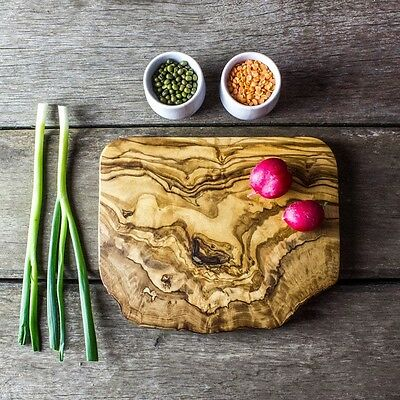 Rustic Olive Wood Chopping / Cheese Board - 19cm x 12cm x 1.75cm (WSCPN19)