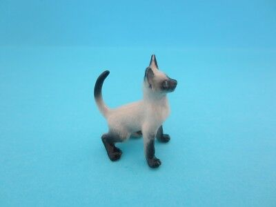 "LITTLE CRITTERZ CAT ""BLAZE"" SIAMESE KITTEN FIGURINE *Mint Condition*"