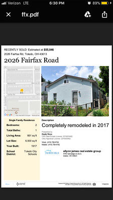 completely rehabbed EVERYTHING new in 2017 rented at $550