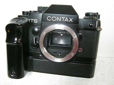 Vintage Contax RTS Camera With Contax Professional Motor Drive W-6 Estate Find