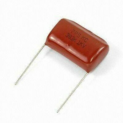 1uF 100V Metallised Polyester Film Capacitors Pack 10