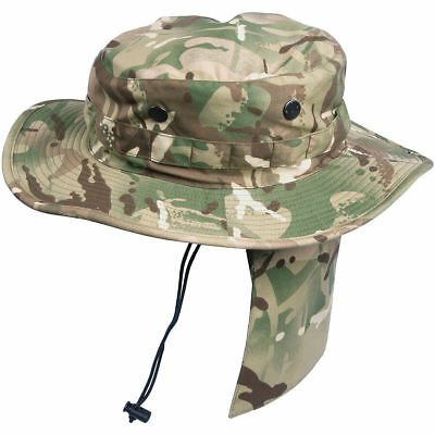 Helikon Pcs Boonie Hat Bush British Army Multicam Mtp Tactical Jungle Mp Camo