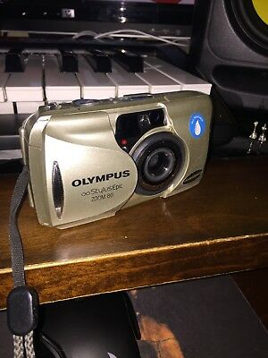 Olympus Stylus Epic Zoom 80 with 35 mm f 2.8 lens w/ original box & papers