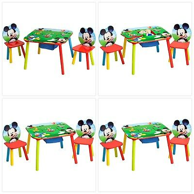 Disney Mickey Mouse Storage Table And Chairs Set   Modern Coffee ...