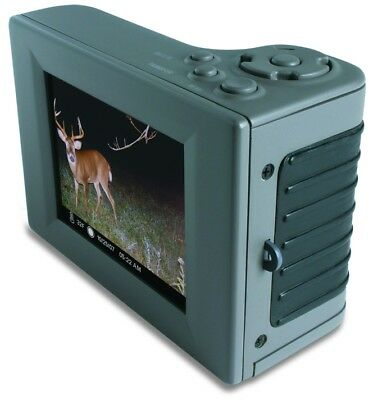 """MOULTRIE Hand Held Digital Picture Viewer 2.8"""" LCD SD- (OPEN BOX)"""