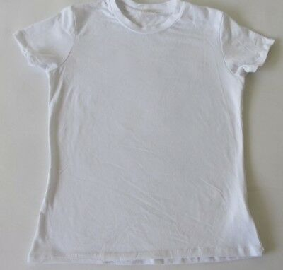 Lot of two New John Galt By Brandy Melville Plain White Tee T-shirt One Size