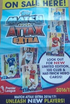 Match Attax Extra 2016/17 Complete Team Sets