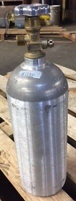 5 lb. Aluminum CO2 Cylinder Reconditioned - Fresh Hydro Test! CGA320 Valve