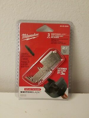 "Milwaukee 2-9/16"" SwitchBlade™ Replacement Blade (3 PK) 48-25-5550"