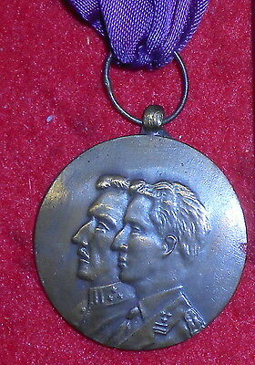 XM11 Belgium Commemorative medal for 50 after the end of WW1 in 1918