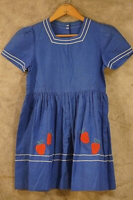 (10) Antique & Vintage Children's Clothing, Strawberry Dress, See Pics!