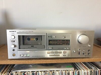 Vintage Sony TC-K77R Cassette Tape Deck for repair - beautiful condition