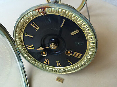 Antique french clock movement / Japy Freres / Parts or Repair