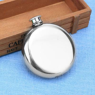 5oz Portable Stainless Steel Liquor Whiskey Wine Alcohol Hip Flask Screw Cap