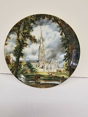 John Constable Salisbury Cathedral Fine Bone China collector plate