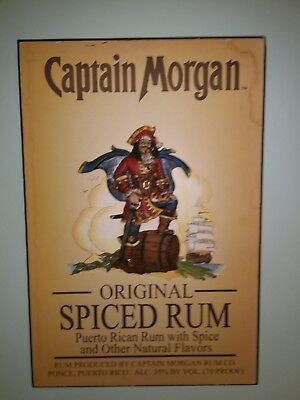 Captain Morgan's Spiced Rum, 3-D Sign