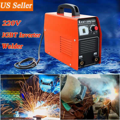 200Amp 220V STICK/ARC/MMA DC Inverter Welder IGBT Welding Machine Soldering US