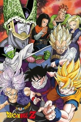 DRAGON BALL Z - PERFECT CELL SAGA - POSTER 24x36 - 160431