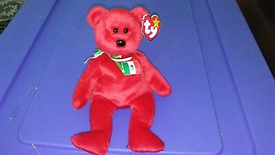5ac2d174741 OSITO THE MEXICAN Bear Ty Beanie Baby Retired New 8 Inches -  4.99 ...