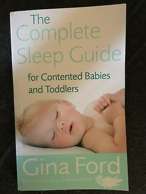 The complete sleep guide for contented babies and toddles.Brand new.